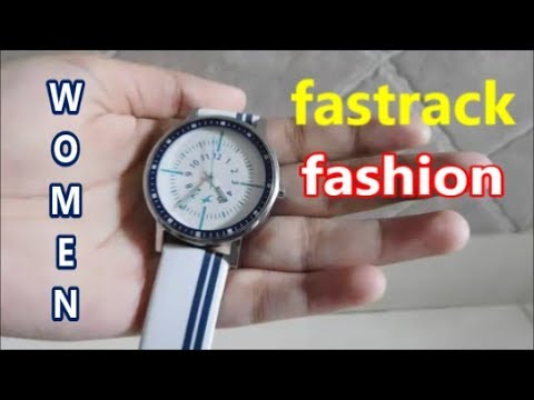 Fastrack Varsity Analog Silver Dial Women's Watch - 6172SL01 UNBOXING & Quick Review (Hindi)