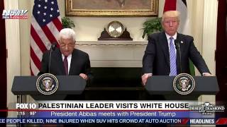MUST WATCH: President Trump and Palestinian President Mahmoud Abbas Speak at White House (FNN)
