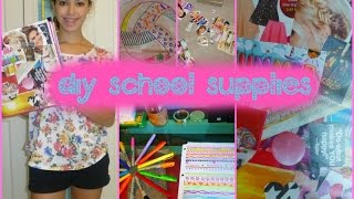 DIY School Supplies 2014! Thumbnail