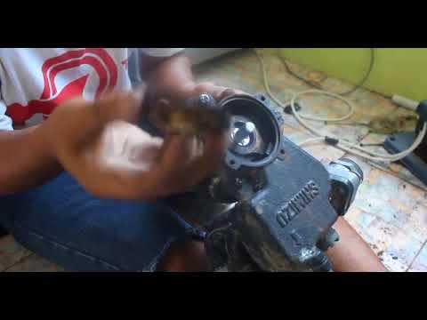Cara Perbaikin Mesin Pompa Air Shimizu Yang Suaranya Berisik Youtube