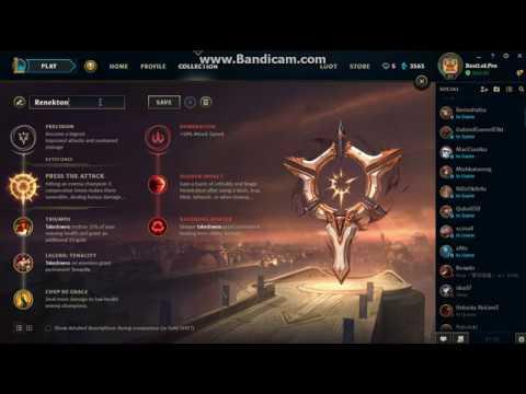 Lol Renekton Rune Build