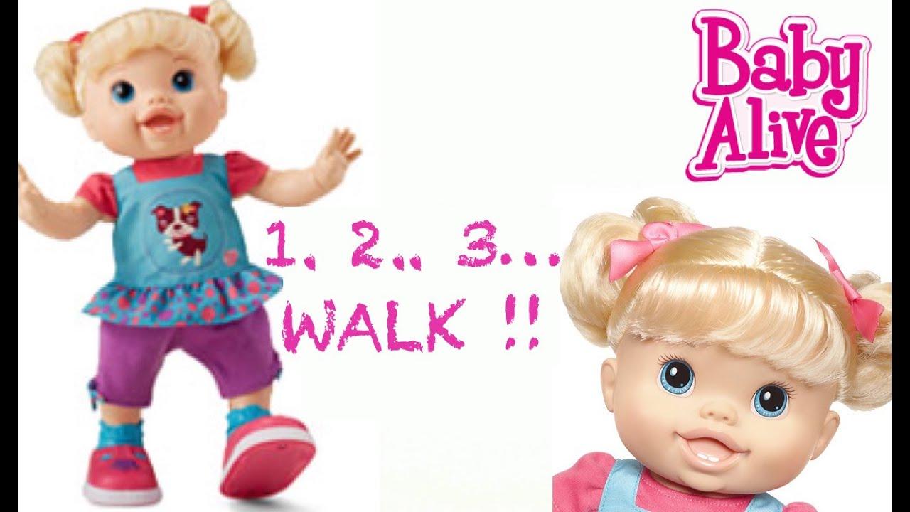 Baby Alive Wanna Walk Doll Walking Dancing Amp Talking