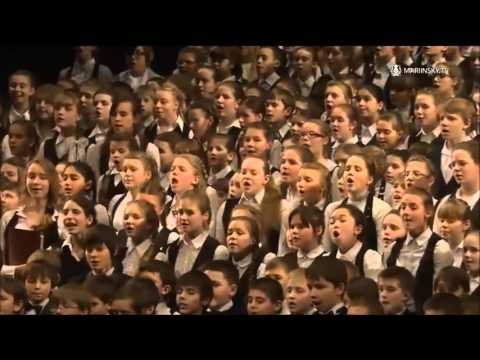 Russian National Anthem - Children's Choir At The Mariinsky Theatre St. Petersburg