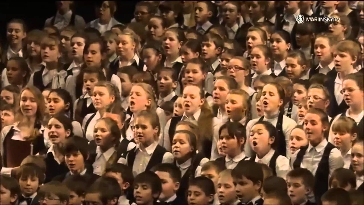 Russian National Anthem - Children's Choir At The ...
