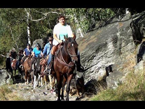 Elbsandsteingebirge mit Horse-Travel-Sachsen