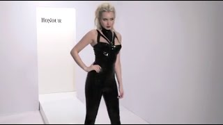 Honour Latex Rubber Liberty Top and Latex Skinny Jeans Thumbnail