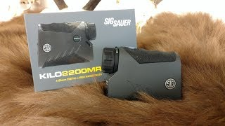 Full Review and Field test of the Sig Sauer Kilo 2200 MR