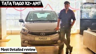 New TATA TIAGO XZ+ (A) : Most Detailed Review || TIAGO 2019