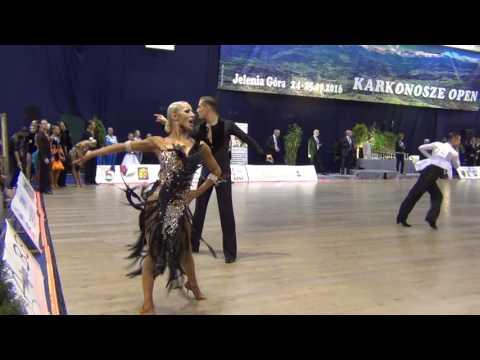Karkonosze Open 2016 WDSF World Open Adults 1/2F Samba 1