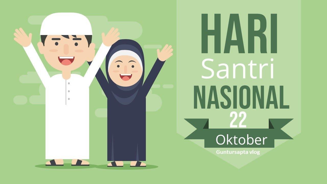 Bahasa Arab Selamat Hari Santri Ucapan Hari Santri Nasional Ucapan Selamat Hari Santri 2019 Ucapan Selamat Hari Santri Youtube