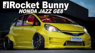 Modifikasi Super Wide Body Honda Jazz Ge8 Rocket B