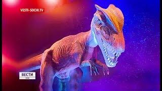 Динозавры появились в Олимпийском парке Сочи