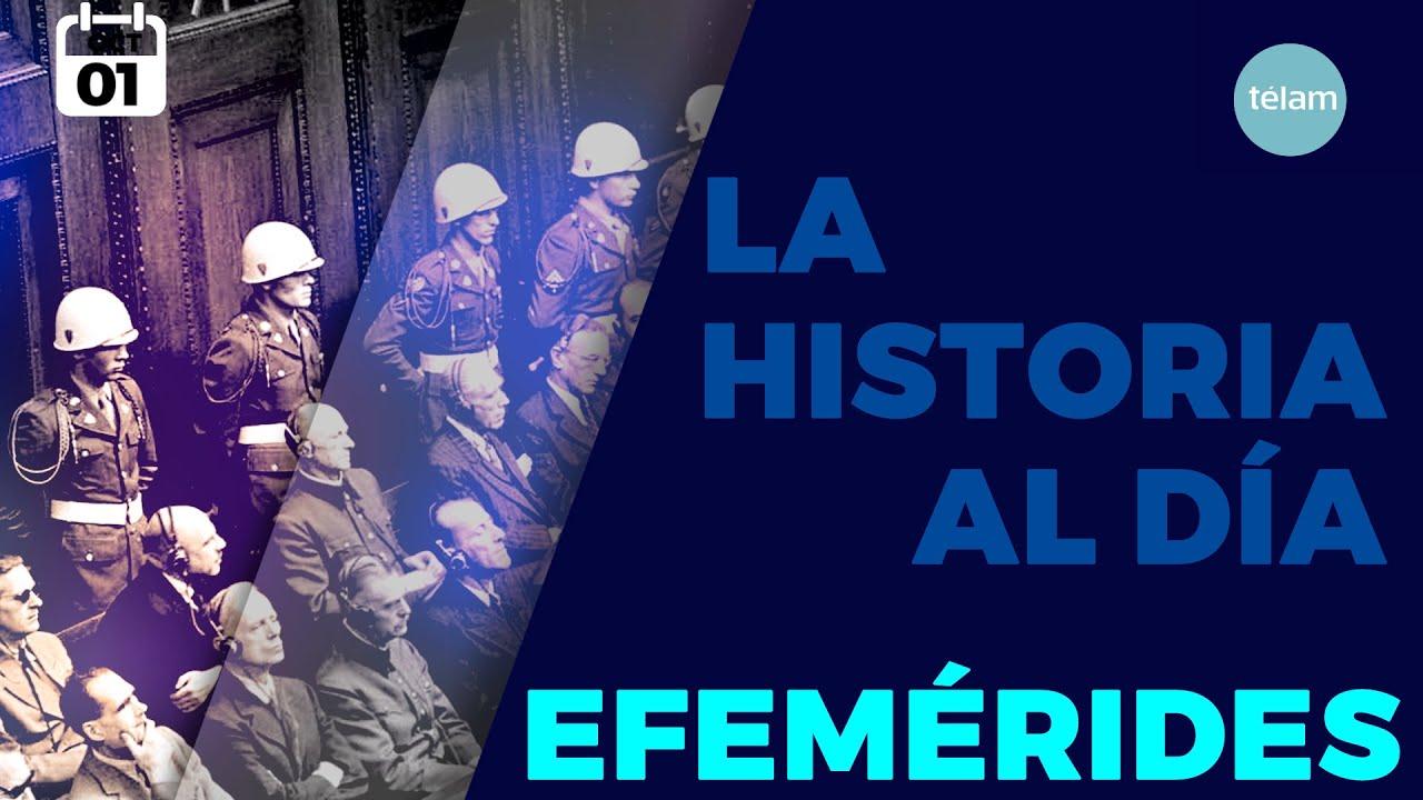 LA HISTORIA AL DÍA (EFEMÉRIDES 1 OCTUBRE)