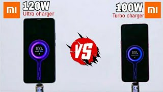 Xiaomi 120W vs Xiaomi 100W Super  Charger Speed Test Live | Which One is the Best Super Fast Charger