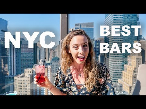 Best Bars in NYC | Rooftop bars, speakeasies, pool bars, and