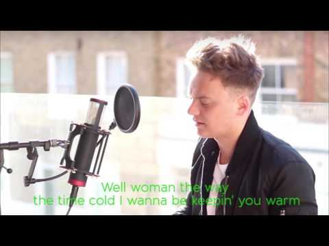 || Music video with Lyrics || Conor Maynard, The Vamps - Shape of you (Ed Sheeran mashup cover)