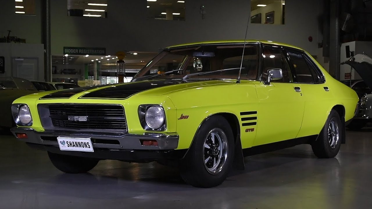 1974 Holden HQ Monaro GTS 253 Sedan - 2018 Shannons Sydney May Auction