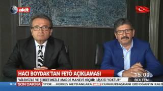 Hacı Boydak'tan FETÖ açıklaması