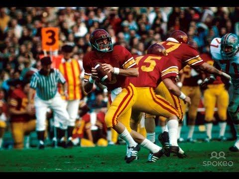 1975 Rose Bowl  #3 Ohio State vs #5 USC