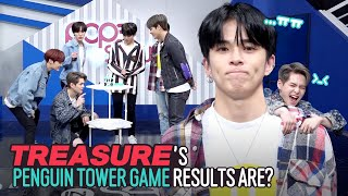 [Pops in Seoul] MMM~♬ Today's game♟ for TREASURE(트레저) - 'Penguin Tower!!'