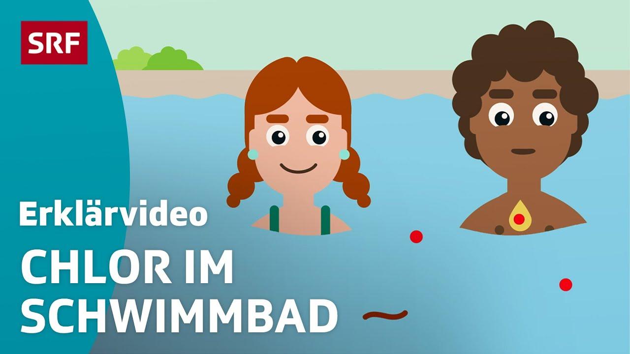 Was macht Chlor im Schwimmbad?   Erklärvideos für Kinder   SRF Kids – Kindervideos