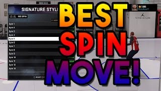 Nba 2k16 | best spin move ever!!