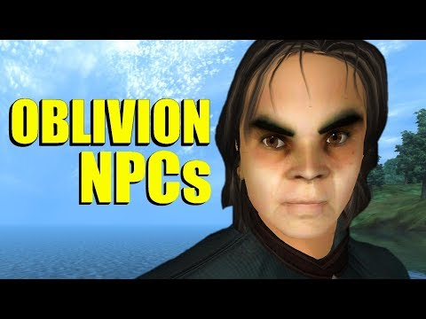 What Is Wrong With Oblivion's NPCs?
