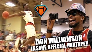 Zion Williamson INSANE Official Mixtape!! | SHUTS THE GYM DOWN in Front of OSN 2017 Video