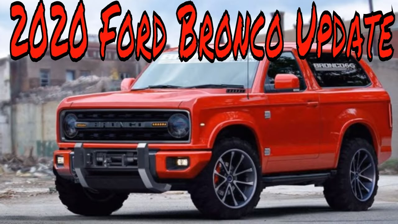 ford bronco update youtube