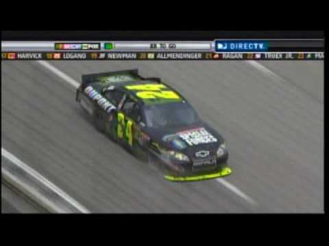 Jimmie Johnson Jeff Gordon Texas Sprint Cup Battle 2010.mpg