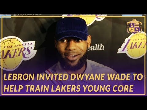 Lakers Post Game: LeBron on Wade's Influence, Inviting Him to Train Young Core