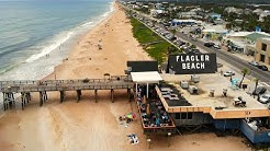 Flagler Beach Pier by Drone - Flagler Beach, FL