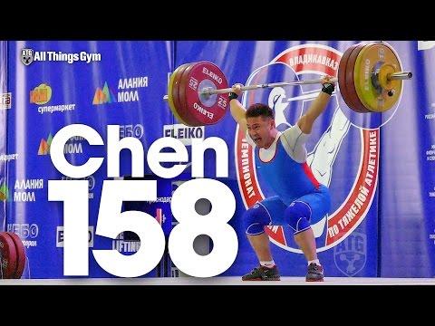 Oleg Chen (69kg) 158kg Snatch 2016 Russian Weightlifting Championships