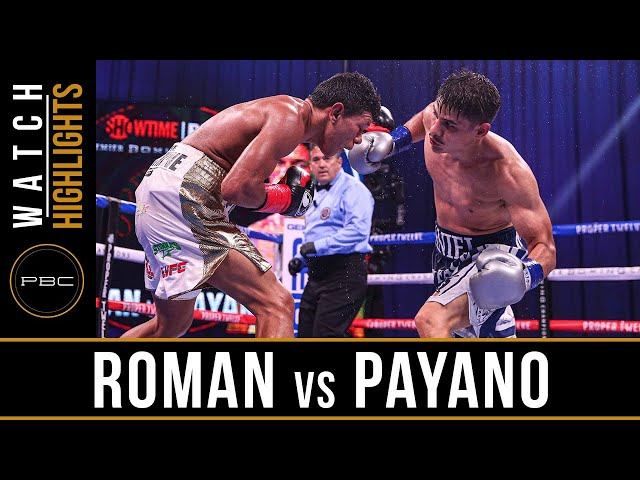 Roman vs Payano HIGHLIGHTS: September 26, 2020 | PBC on SHOWTIME PPV