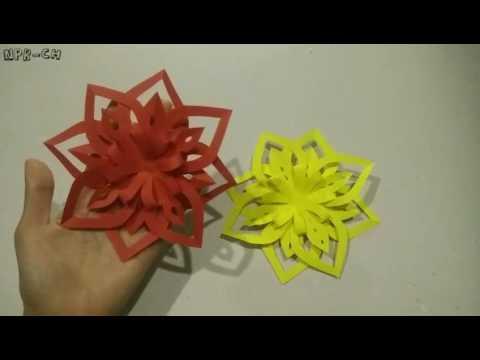 ดอกไม้กระดาษติดบอร์ด#8(Paper flower)