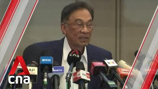 Malaysia's Anwar Ibrahim claims to have majority to form new government