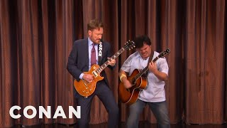 Conan And Jack Black's Guitar Battle  - CONAN on TBS thumbnail