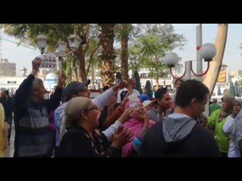 أنصار مرتضى يحتفلون بفوزه في انتخابات الزمالك بالزغاريد والتصفيق