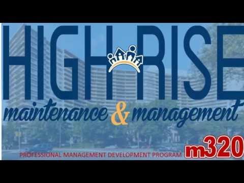 M320 - High Rise Maintenance & Management in Philadelphia