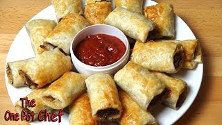 Mexican Style Sausage Rolls - Recipe