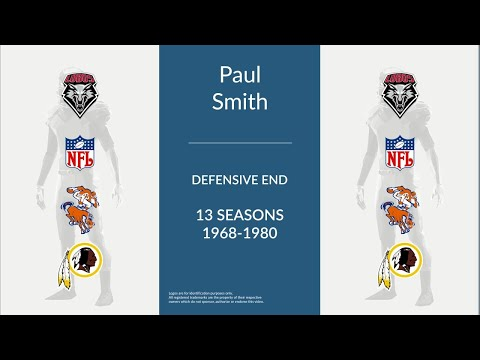 Paul Smith: Football Defensive End