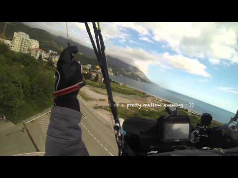 Paragliding, Ian Pepper, Montenegro