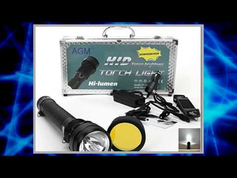 85w hid flashlight 8500 lumens doovi. Black Bedroom Furniture Sets. Home Design Ideas