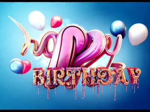 Beautiful Happy Birthday Wishes Text 2015 Latest Hd Youtube