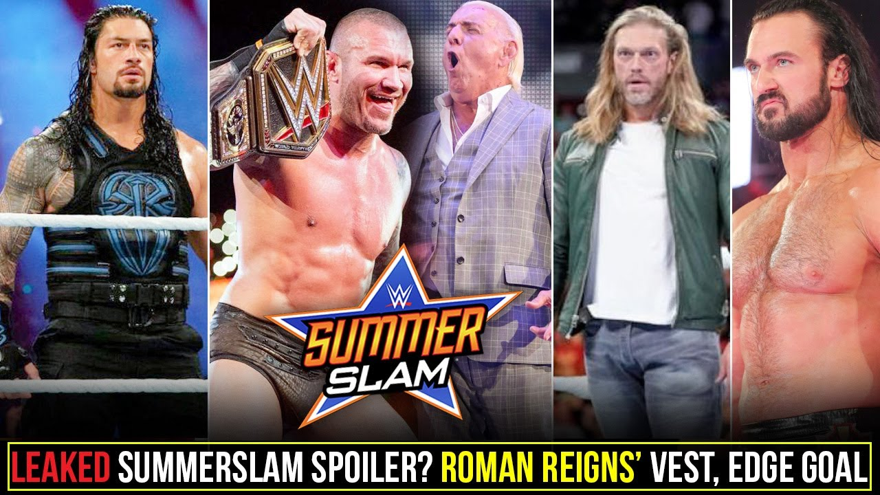 Leaked SummerSlam End Revealed😮? Roman Reigns Called Out Vest, Randy Orton Top, Edge Coming for Big