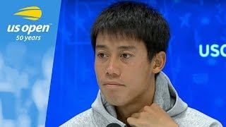 2018 US Open Press Conference: Kei Nishikori