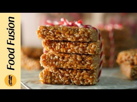 Til ki chikki (sesame seed brittle) Recipe By Food Fusion
