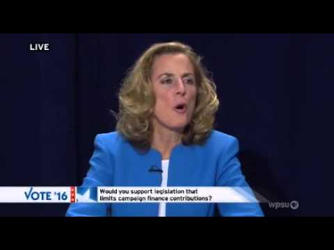 After DSCC Says It Will Spend $1.1 Million, Katie McGinty Bashes High Dollar Donations
