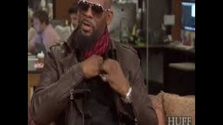 R.Kelly Walks Off Huff Live Interview