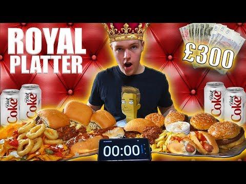 The ROYAL PLATTER CHALLENGE!   £300 CASH PRIZE  